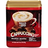 Hills Bros Coffee, Double Mocha Cappuccino, 16.0-Ounce