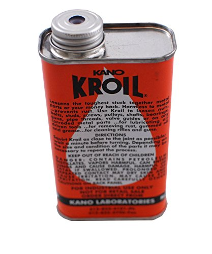 8oz Liquid Kroil Penetrating Lube Non Aerosol