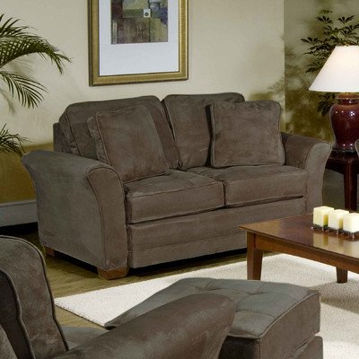 Loveseat Fabric: Padded Walnut