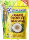 Wholesome Sweeteners Organic Coconut Sugar, 16-Ounce (2 Pack)