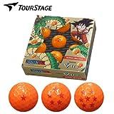 ブリヂストン ゴルフ V10 ツアーステージ ゴルフボール ドラゴンボール [1ケース販売/7球]