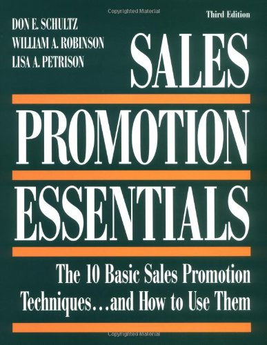 Sales Promotion Essentials : The 10 Basic Sales Promotion...