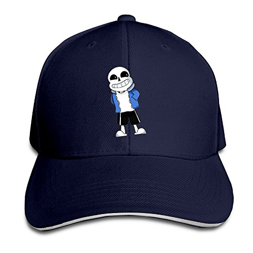 teenmax-unisex-undertale-sans-sandwich-peaked-baseball-cap
