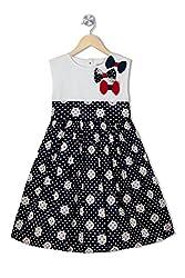 Soulfairy Girls' Dress (SS16-DRSNAU-210_Navy_3-4 Years)