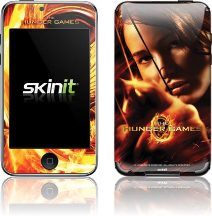 Skinit The Hunger Game -Katniss Bow & Arrow Vinyl Skin for iPod Touch (2nd & 3rd Gen)