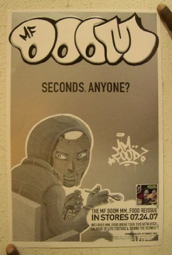 Mf Doom Poster Seconds Anyone? Mfdoom