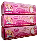 Disney Princess Sandwich Bags *3-Pack* (3 x 20 Resealable Bags)