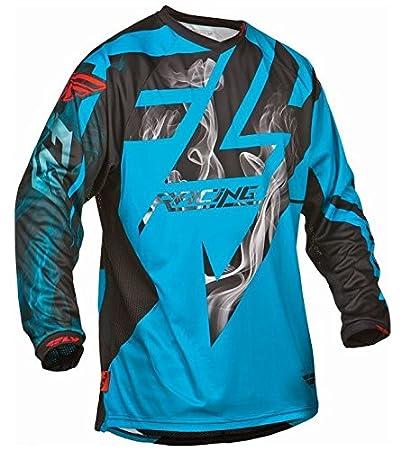 Fly 2015 Motocross / VTT Jersey - hydrogène Lite Noir-bleu