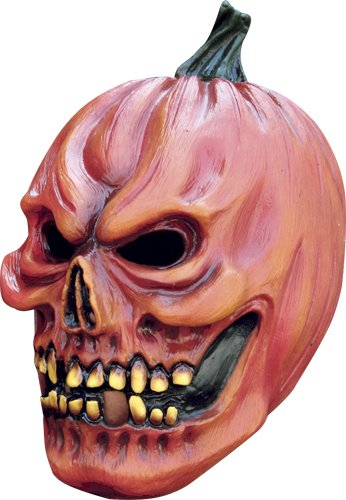 Demon Pumpkin Horror Adult Mask for Scary Costume