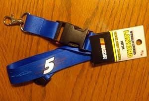 Buy Kasey Kahne #5 2-Sided Breakaway Lanyard w Detachable J-Hook Nascar Racing by aminco