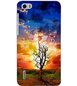 HUAWEI HONOR 6 TREE Back Cover by PRINTSWAG