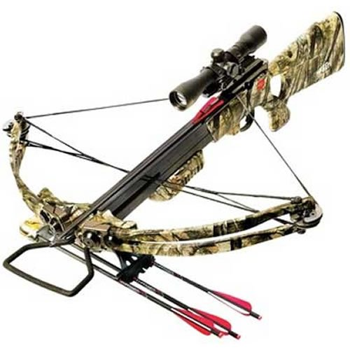 PSE 185-Pound Reaper Crossbow Package with Scope