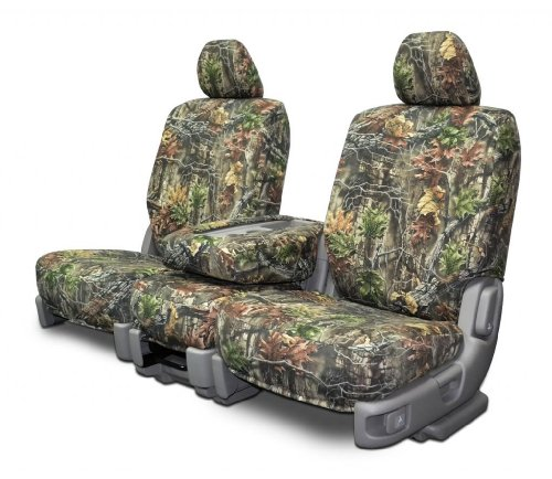 Custom Fit Rear Seat Covers For Chevy/Gmc Bench Seat Superflauge Camo Fabric