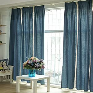 Amazon.com - FADFAY Window Curtain Curtains For Living