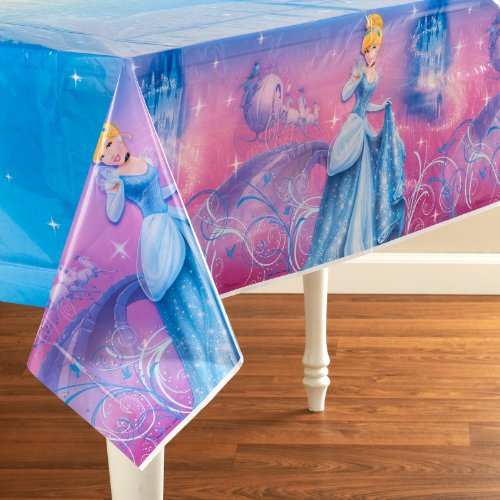 Cinderella Sparkle Tablecover (1 per package)