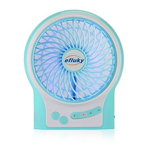 efluky-ventilador-recargable45-pulgadas-mini-usb-3-velocidades-con-azul-decorativo-de-luz-y-luz-led-