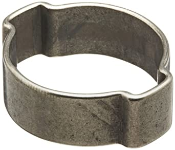 Oetiker 151 Series Stainless Steel Hose Clamp, Double Ear