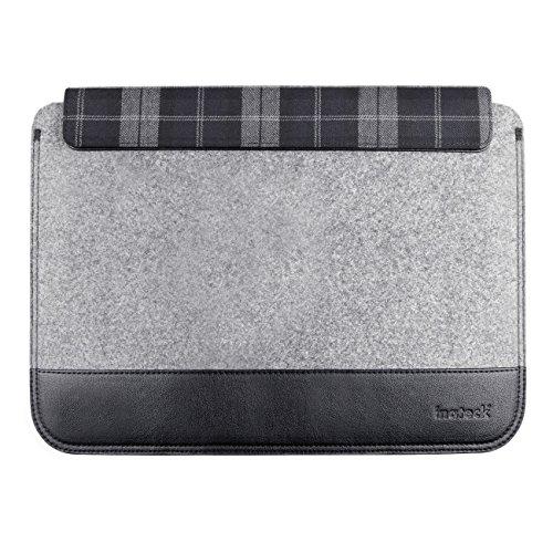 Inateck 11インチ超薄型スリーブケース Macbook Air/ウルトラブック/ネットブック用 プロテクターケース 小物収納ポケット付