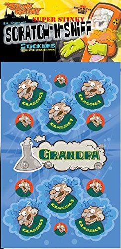 Scratch-N-Sniff Stickers- Grandpa