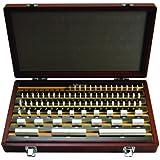 Mitutoyo Ceramic Rectangular Gage Block Set, ASME Grade 00, Inch