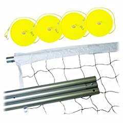 Buy Franklin Sports Industry 13059 Steel Volleyball Post and Net System by Franklin