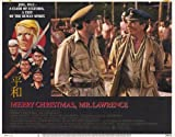 Merry Christmas Mr. Lawrence Poster Movie B 11 x 14 In - 28cm x 36cm David Bowie Tom Conti Ryuichi Sakamoto Takeshi &quot;Beat&quot; Kitano Jack Thompson Takashi Naito