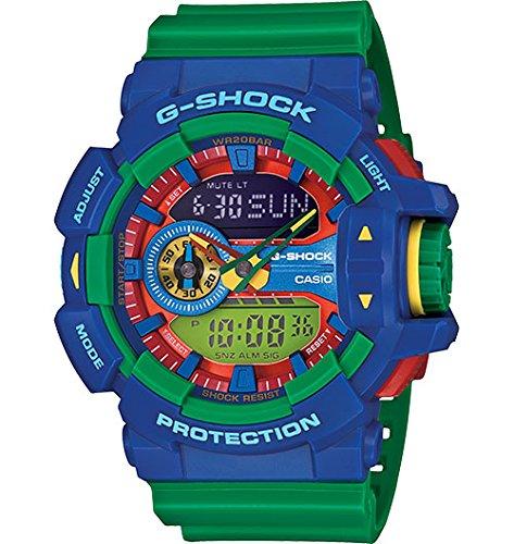 Casio - G-Shock - GA-400 Series - Blue/Green - GA400-2A