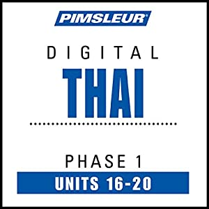 Thai Phase 1, Unit 16-20 | Livre audio
