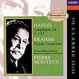 """Haydn: Symphonies Nos. 94 & 101; Brahms: """"Haydn"""" Variations"""