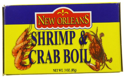 Zatarain's Shrimp & Crab Boil, 3-Ounce Boxes (Pack of 12)