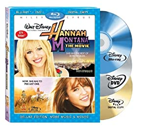 Hannah Montana: The Movie (Three-Disc Blu-ray/DVD Combo + Digital Copy) [Blu-ray]