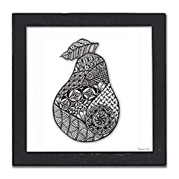 Pear Pen & Ink