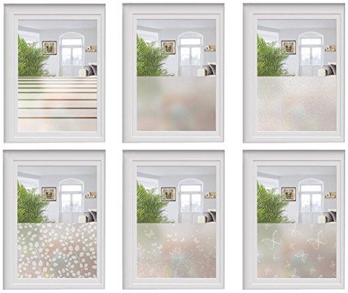 Melinera Fenster Sichtschutzfolie Selbsthaftend Ohne Klebstoff