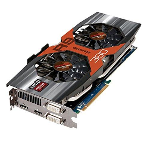 Diamond Multimedia AMD R9 380 PCIE GDDR5 4GB Memory Graphics Video Card R9380D54G