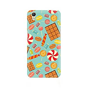 Ebby Chocolate and Candy Premium Printed Case For Oppo A37
