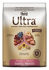 NUTRO ULTRA Small Breed Adult Dry Dog Food, 8 Pound