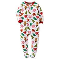 Carters Baby Girls Fleece Pajamas (4T…