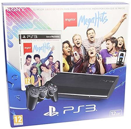 PlayStation 3 - Consola 12 GB + SingStar: MegaHits
