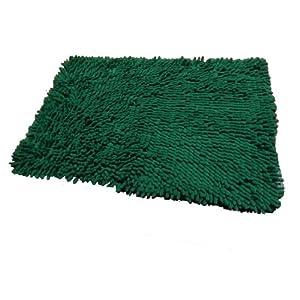 bvi 23x16 green microfiber bath anti