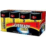 Eveready Alkaline Battery 8 Pack (D Cell)