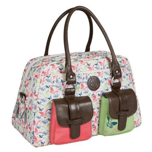 Lï¿œssig Changing Bag Vintage Metro Bag Butterfly Spring by Lï¿œssig