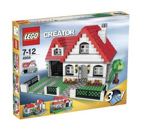 lego creator 4956 haus neu review kaufen 2018. Black Bedroom Furniture Sets. Home Design Ideas