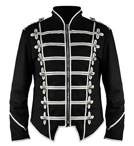 New-Steampunk-Emo-Punk-Goth-MCR-Military-Drummer-Parade-Jacket