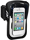 X-1 (Powered by H2O Audio) XB1-BK-X Amphibx Fit Waterproof Armband for Smartphones (Black)