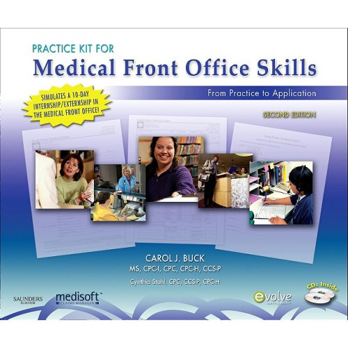 Practice Kit for Medical Front Office Skills with Medicare Soft Version 14