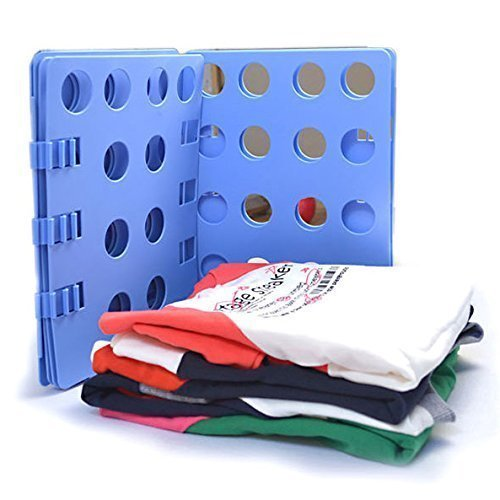 Ohuhu Clothes Folder - Adult Dress Pants Towels T-shirt Folder / Shirt Folder/ Laundry Folder Board Organizer, Blue