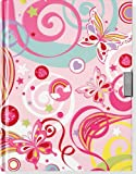 img - for Fantasy Butterflies Locking Journal (Diary, Notebook) (Locking Journals) book / textbook / text book