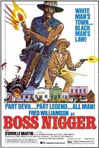 Boss Nigger Poster Movie 27x40