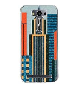 High Rise Buildings 2D Hard Polycarbonate Designer Back Case Cover for Asus Zenfone Selfie ZD551KL
