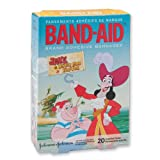 Band-Aid Jake & the Neverland Pirates Bandages - 20 per Pack